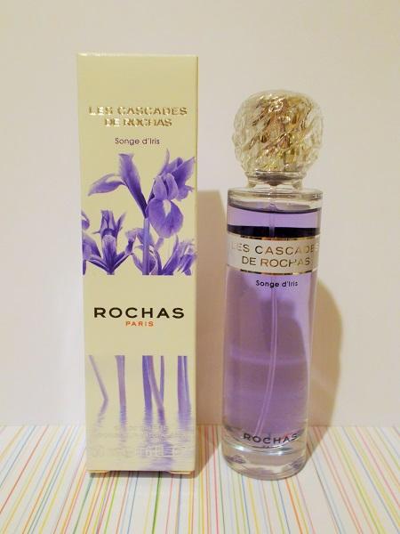 Les cascades rochas songe d'iris