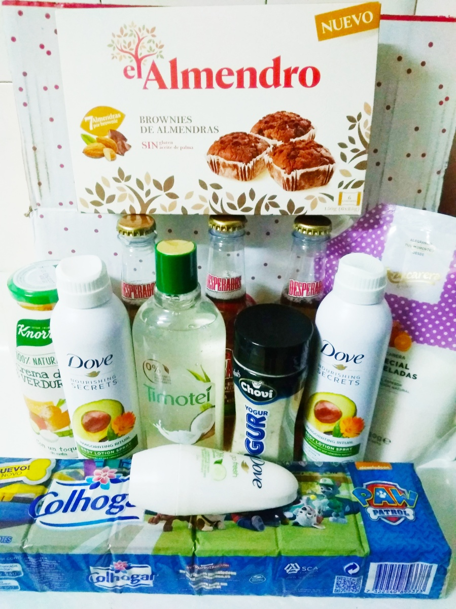 Unboxing Testabox Septiembre: caja especial Unilever